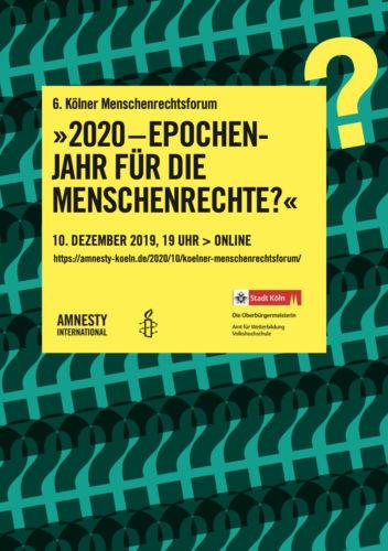 6. Kölner Menschenrechtsforum